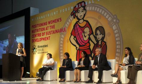 participants at micronutrient forum global
