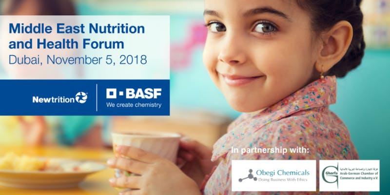 middle east nutrition and health forum dubai november 2018