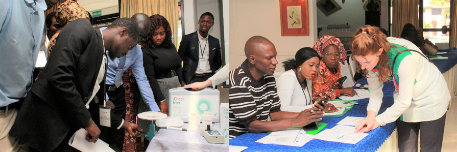 BioAnalyt in Banjul, Gambia: Training of Trainers (ToT) for laboratory technicians and food inspectors on the use of iCheck devices