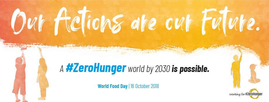 world food day 2018 banner