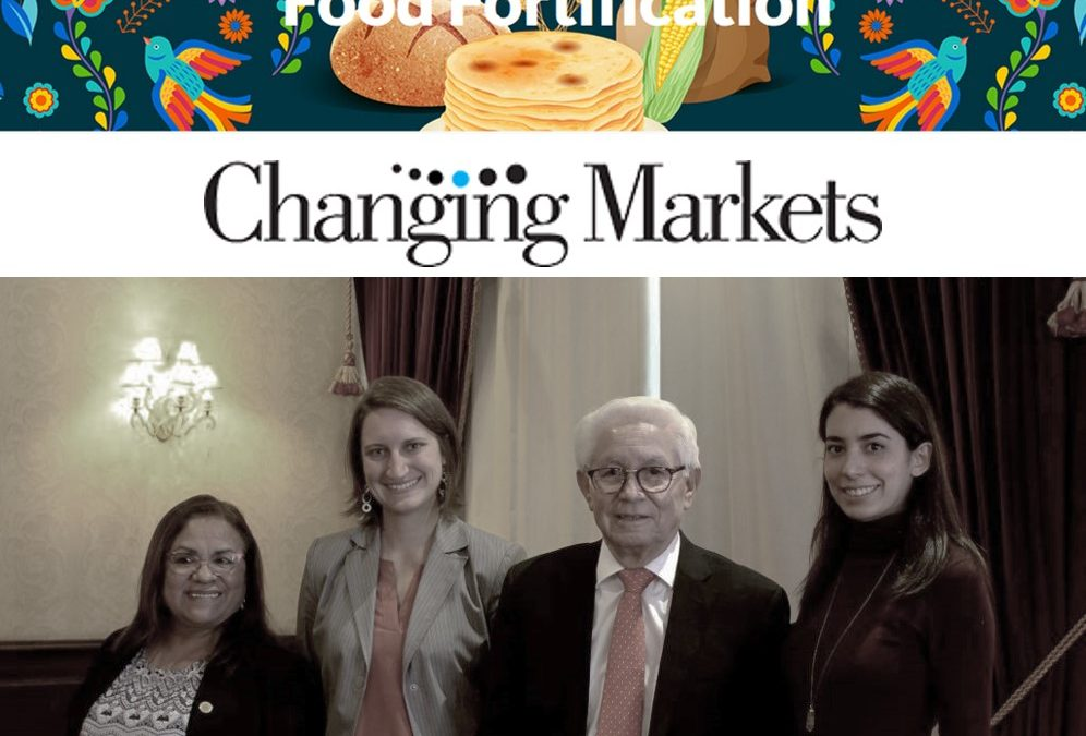 BioAnalyt and Changing Markets Present iChecks to Mexico's Food Control Agency, COFEPRIS