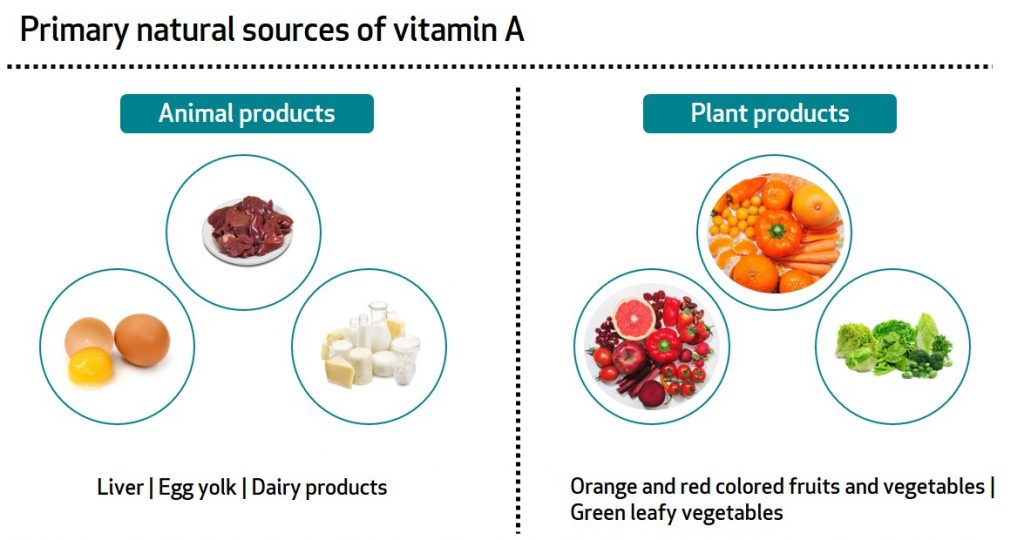 Learn About Your Vitamins And Minerals Vitamin A And Iron Bioanalyt