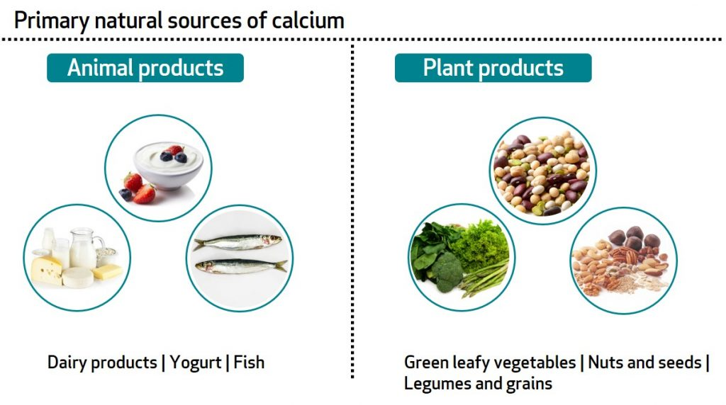 BA-calcium sources